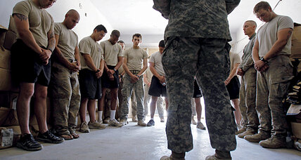 On the front lines of sexual assault in the military: Army chaplains