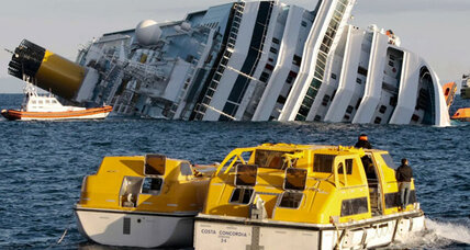 Costa Concordia: Capsized cruise ship owners blame 'human error'