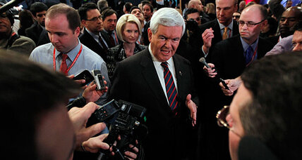South Carolina debate: Can 'janitor' comments spark Newt Gingrich comeback?