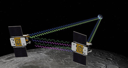 NASA's twin moon probes renamed by children: 'Ebb' & 'Flow'