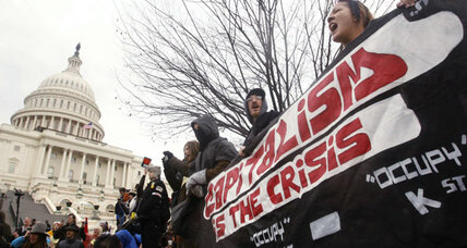 Occupy protesters meet outside as Congress returns