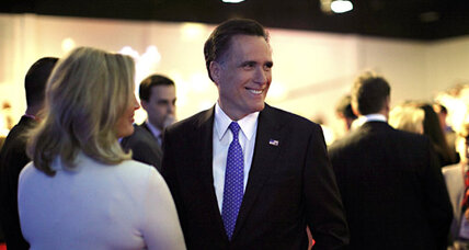 Romney can take risks. He's rich.