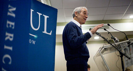 Why Ron Paul left South Carolina to take part in a 'charade'