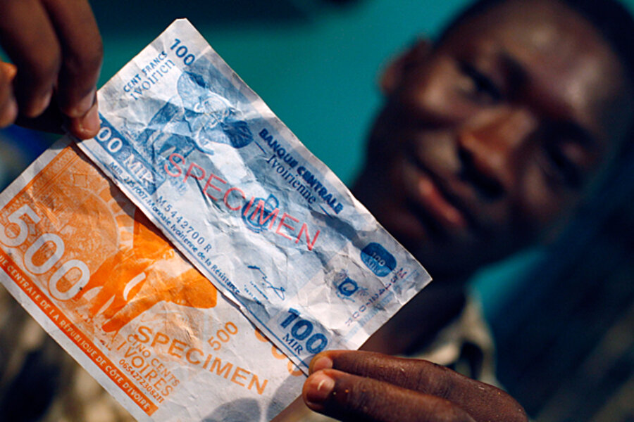 Future Of Journalism >> Africa's single currency, the CFA Franc, in a Post-euro Future - CSMonitor.com