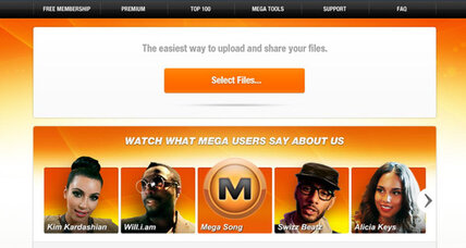 Feds shut down file-sharing website Megaupload