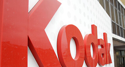 Eastman Kodak files for bankruptcy