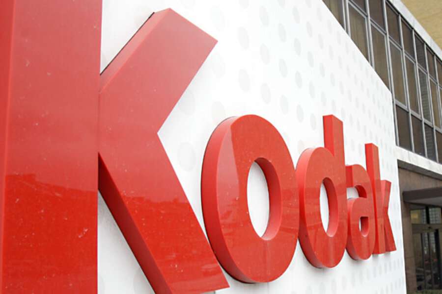 Eastman Kodak Files For Bankruptcy Csmonitor Com