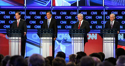 South Carolina Republican debate: Surging Newt Gingrich scores