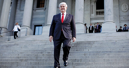 Still in, Newt Gingrich is the wild card in GOP race