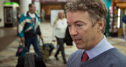 Rand Paul 'detained' by TSA. Does that happen to other senators?
