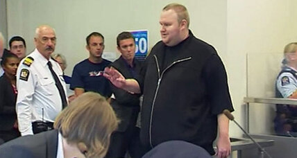 Kim Dotcom, Megaupload founder, denies piracy in N.Z. court