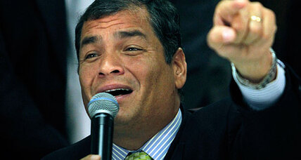 Ecuador's President Correa sues newspaper and is blamed for killing free speech