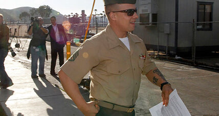 Marine demoted to private to end Haditha trial. Did military justice work?