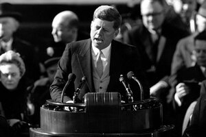 JFK library releases last secret Oval Office tapes CSMonitorcom