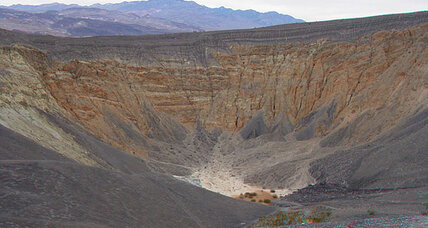 In Death Valley, ancient volcano gives scientists a surprise