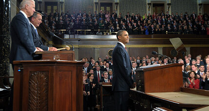 In State of the Union address, Obama tries out for hero of middle class