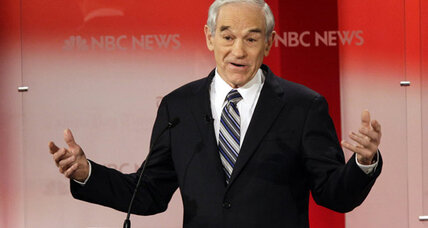 Why Ron Paul is shivering in Maine instead of cavorting in Florida