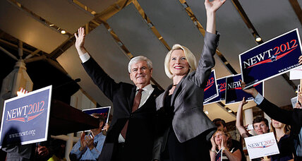 Florida debate: Where's the love? Newt Gingrich hopes audience shows it.