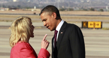 Did Arizona Gov. Jan Brewer disrespect President Obama? (+video)