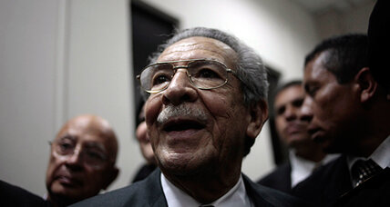 Former Guatemalan dictator Efrain Rios Montt faces trial for genocide
