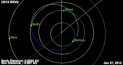 School-bus-sized asteroid to buzz Earth Friday, nearer than moon