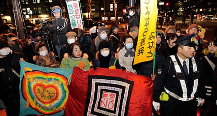 Anti-nuclear movement growing in Asia