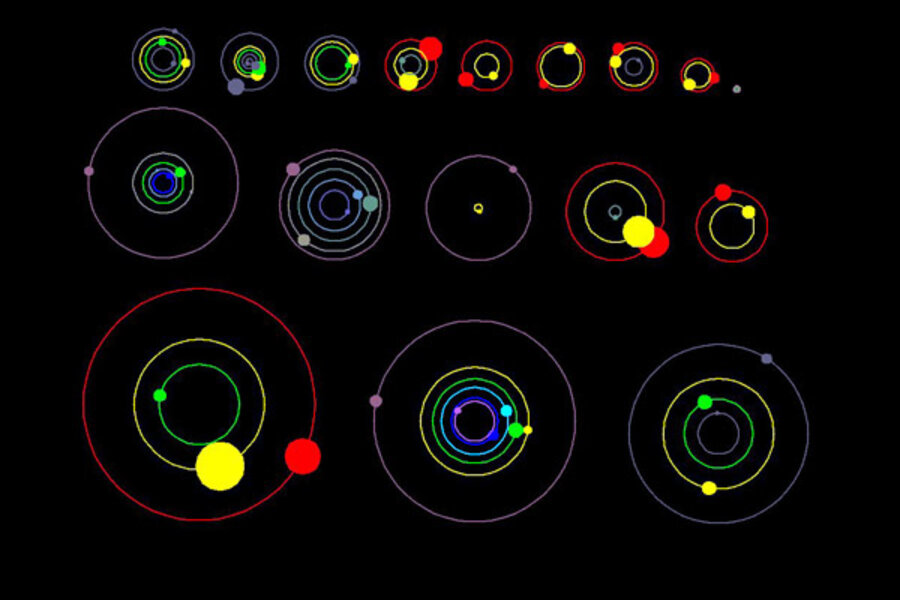 NASA discovers 26 new alien planets in 11 solar systems ...