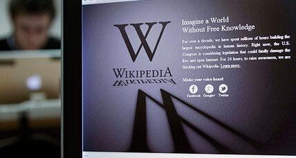 SOPA blackout: What happened to Wikipedia?