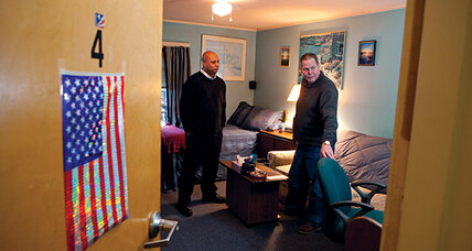 How to curb chronic homelessness? First, a home!