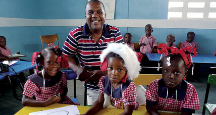 Tony Boursiquot rushed home to Haiti to become a 'defender of the weakest.'