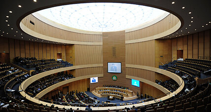 African Union summit: disunity on display