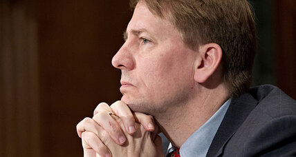 Consumer bureau chief Richard Cordray testifies on Hill: Has he charmed the GOP?