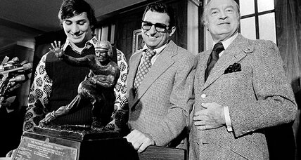 Joe Paterno left a legacy of football records and scandal