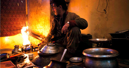 A breakfast to warm winter in Kashmir