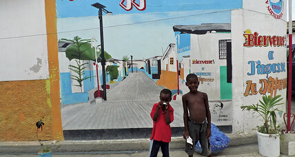 Cleanup coalition in Haiti's largest slum