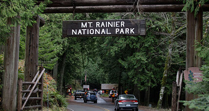 Mount Rainier evacuation complete as suspect's body found in snow