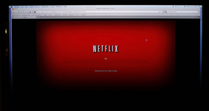 NFLX stock jumps, as Netflix audience returns