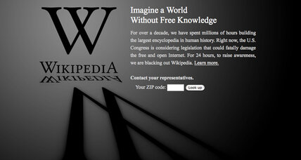 SOPA blackout: How to get around the Wikipedia protest
