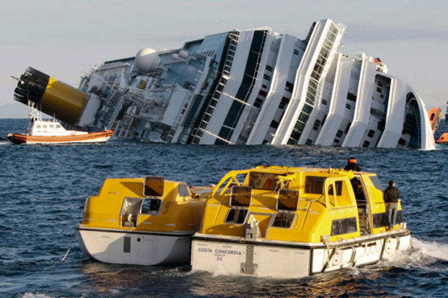 Third Survivor Rescued From Capsized Cruise Ship