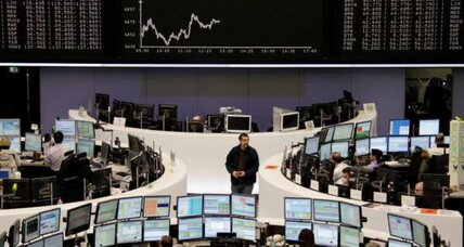 Stocks fall. Greece weighs on markets.