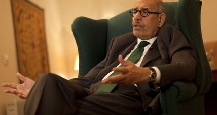 ElBaradei quits race, says no real democracy in Egypt