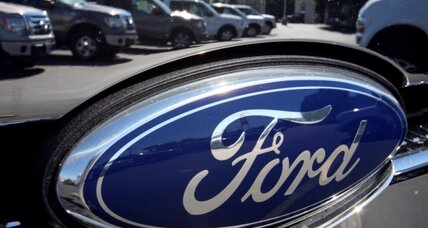 Ford: Income skyrockets. Best year in a decade.