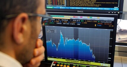 Stock market divide: Asia down, Europe up