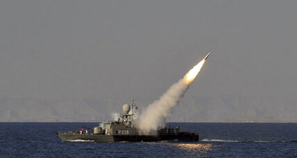 Iran test-fires new missile as Strait of Hormuz posturing continues
