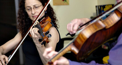 Julie Leven brings classical music to homeless shelters