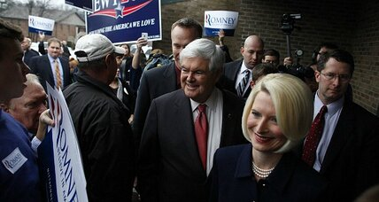 Newt Gingrich's infidelities not hurting him in South Carolina