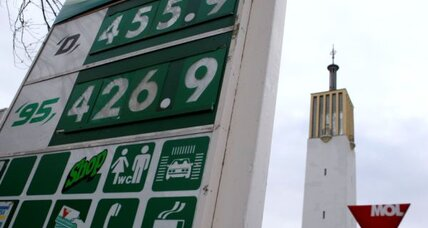 Oil prices fall below $99 a barrel