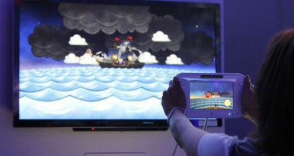 Wii U: Five players, one touch screen, total family madness