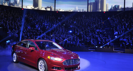 2013 Ford Fusion branded as 'new face' of Ford