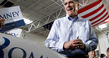 Mitt Romney moved to the right of Newt Gingrich in Florida